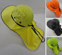 Legionnaires Hat [Solid Color with Mesh Sides] Neon/Black